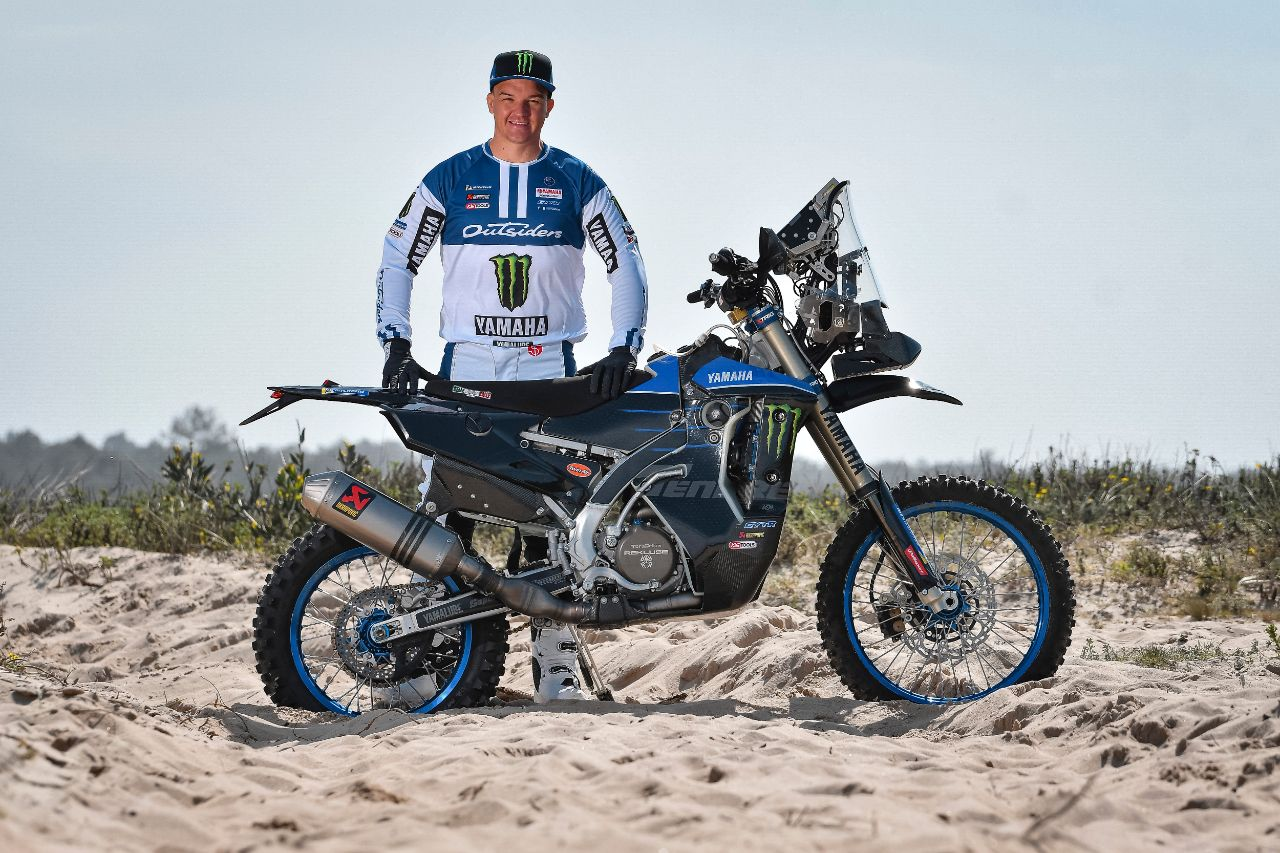 Catching up with Monster Energy Yamaha Rally Official Team's Ross Branch