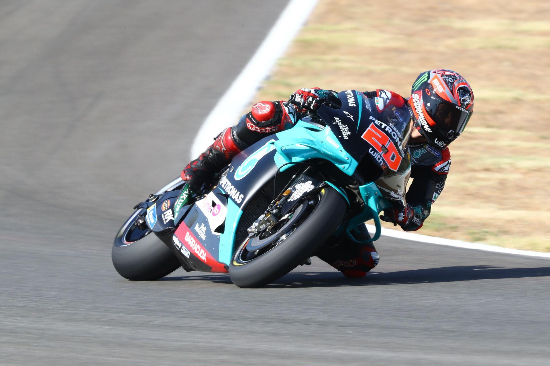 First 2020 Motogp Pole Position For Fabio Quartararo
