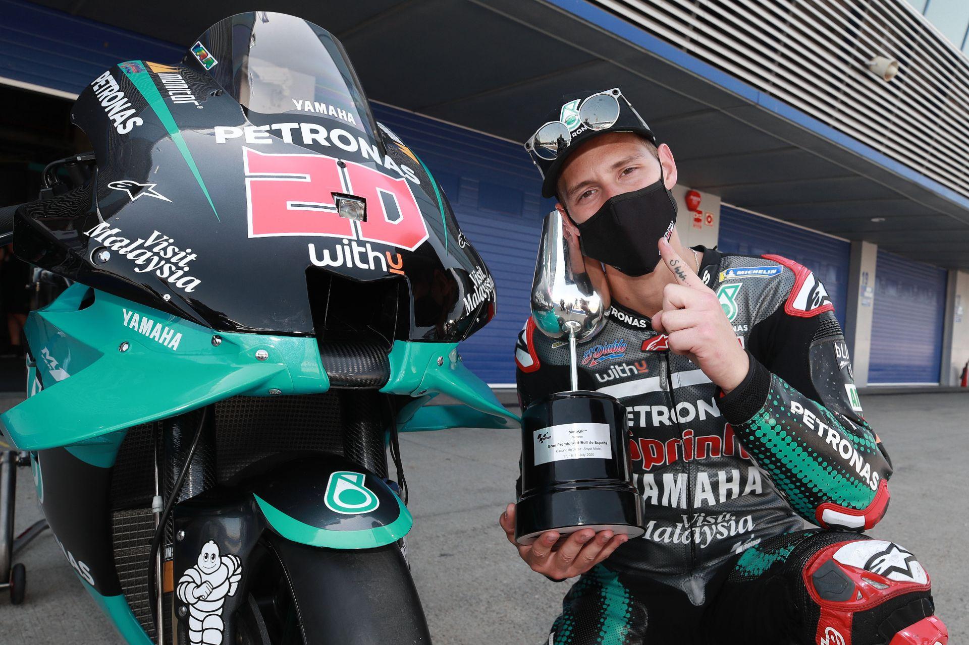 Fabio Quartararo Takes First Motogp Race Win