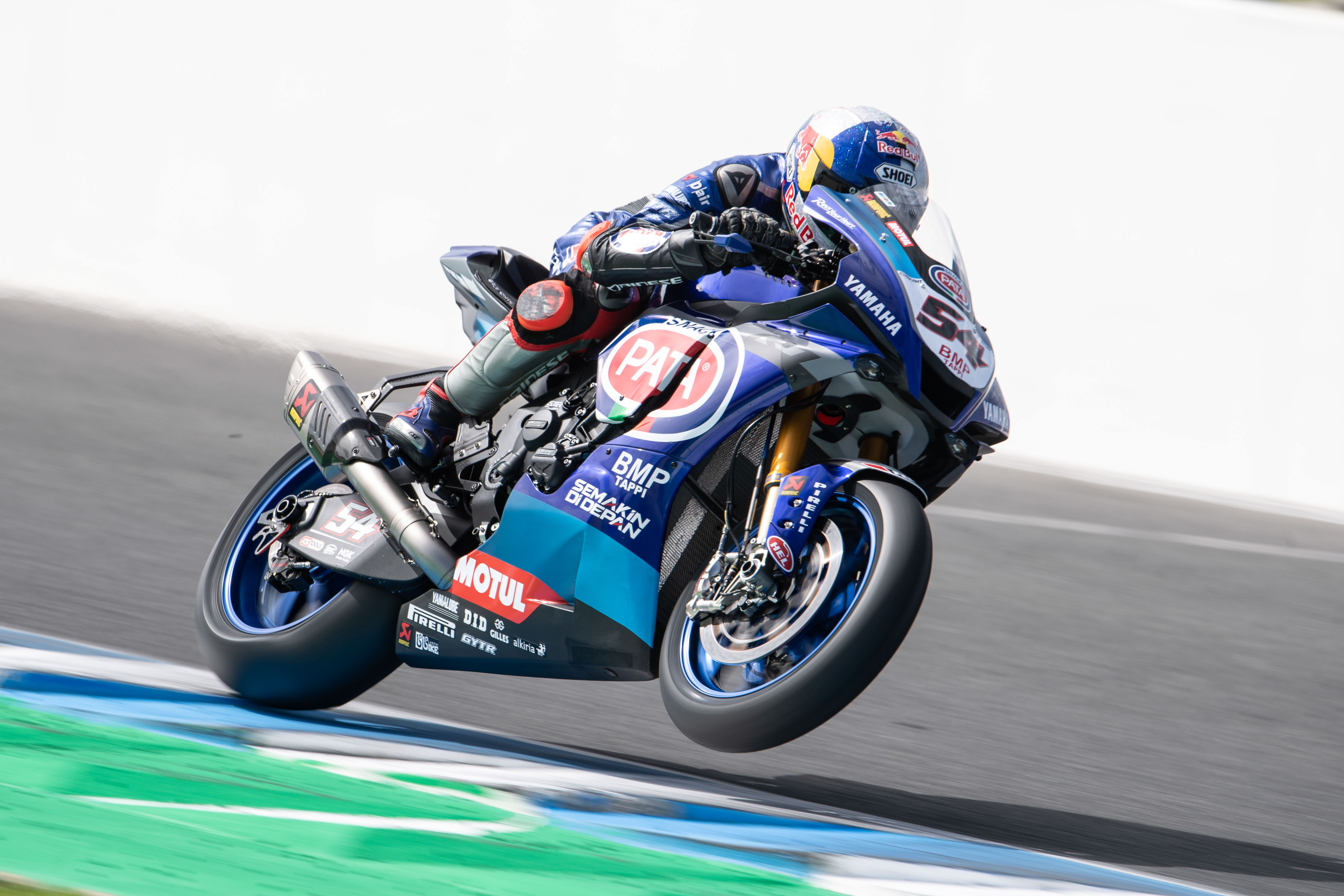 Podium Pace From Pata Yamaha Pair On